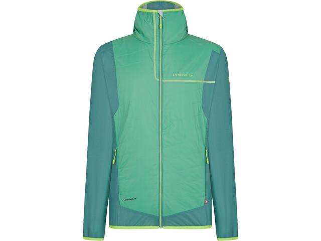 La Sportiva Zeal Veste Homme, grass green/pine